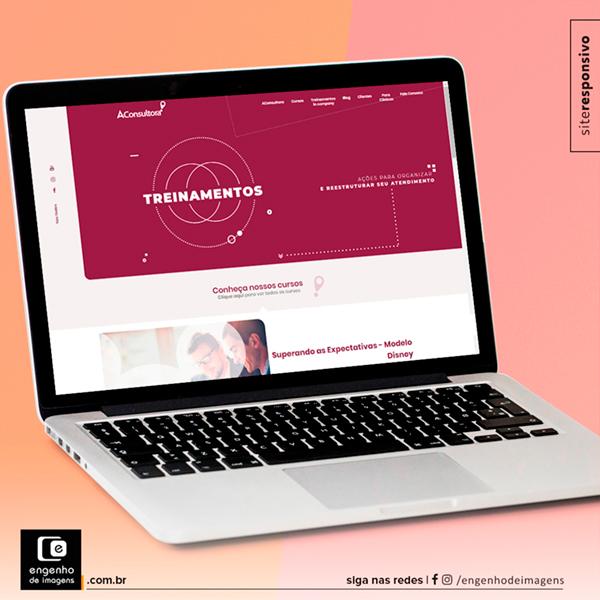 Novo site no ar - AConsultora