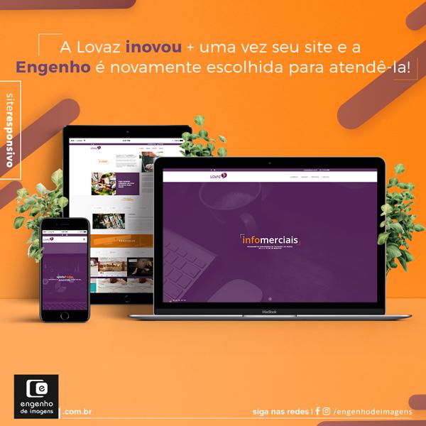 Novo site - Lovaz