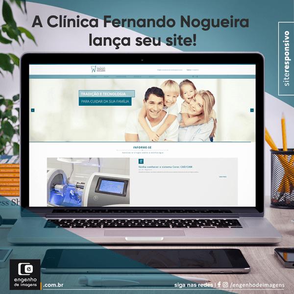 Novo site - Clínica Fernando Nogueira