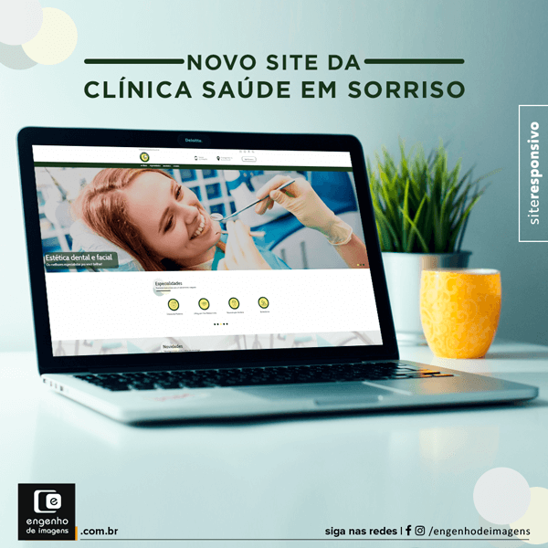 Novo Site - Clínica Saúde em Sorriso