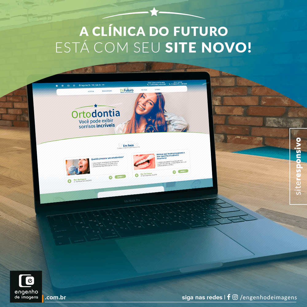 Novo Site - Do Futuro Clinica Odontológica