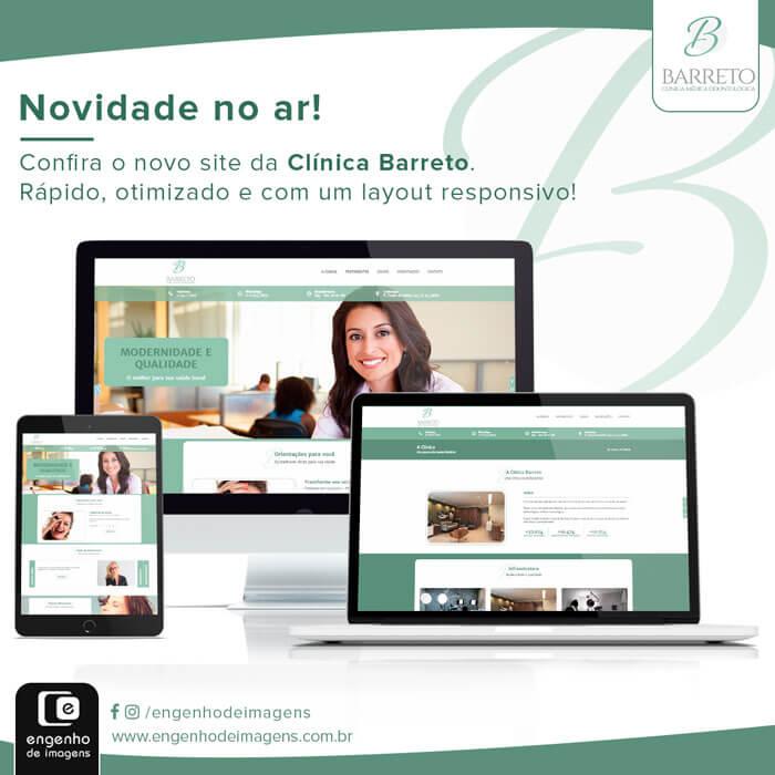 Novo Site - Clínica Barreto