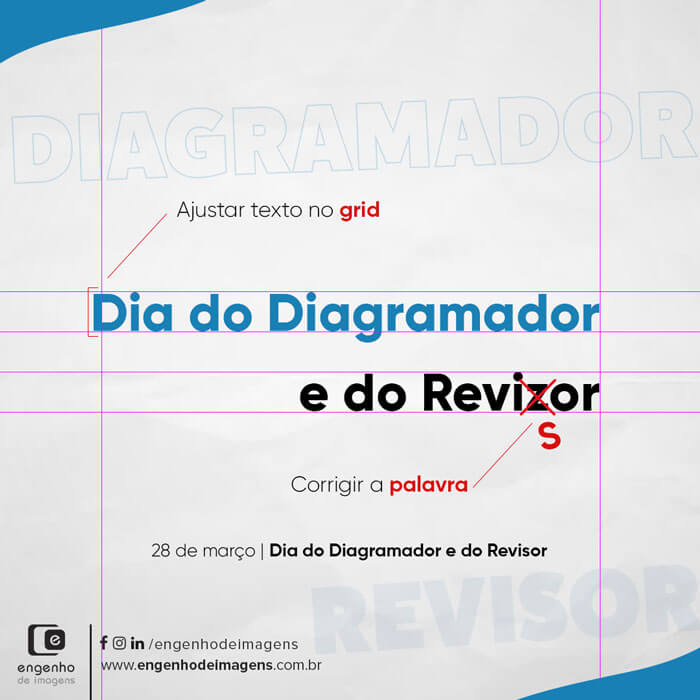 Dia do Diagramador e Revisor