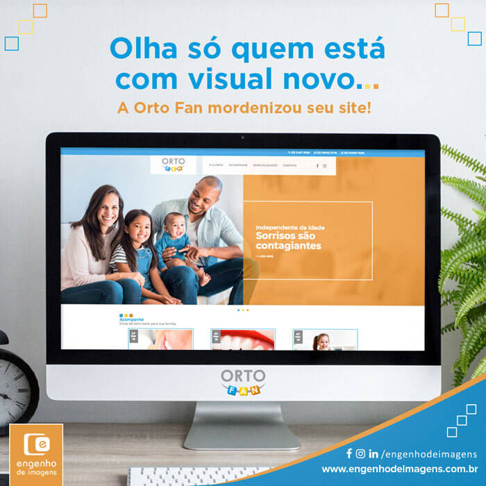 Novo site | Orto Fan