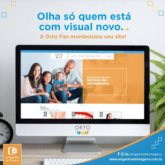 Novo site | Orto Fan