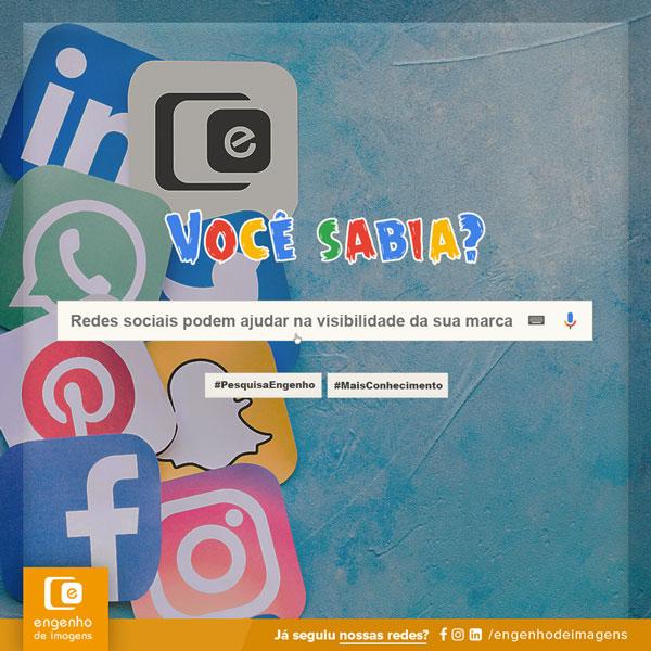 Seja visto nas redes sociais!