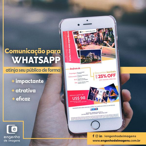Comunicação para WhatsApp