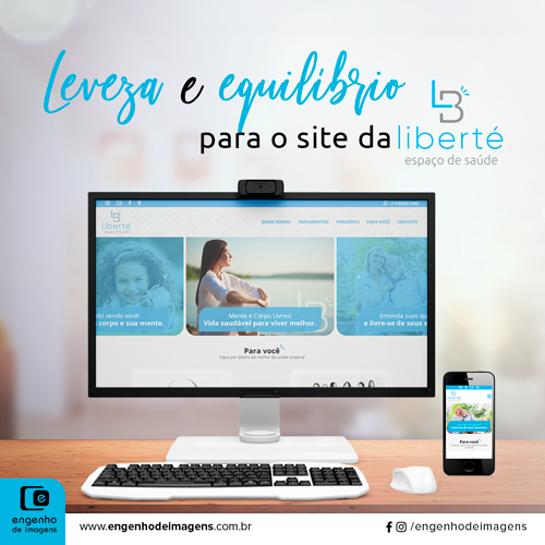 Venha ver o site da Liberté!