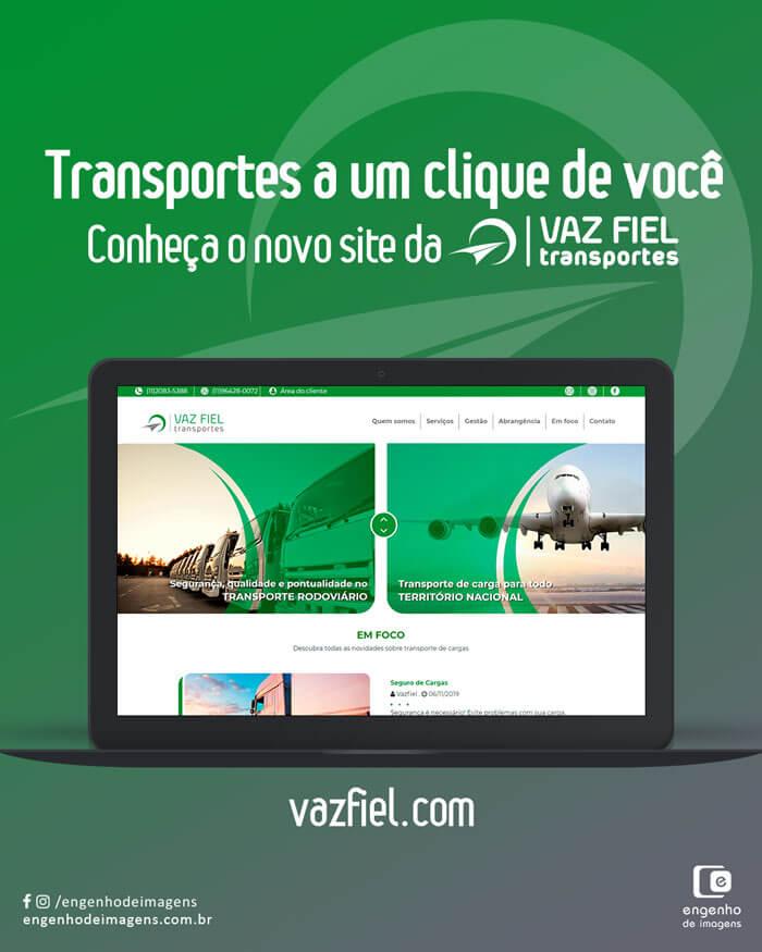 Site renovado: Vaz Fiel!