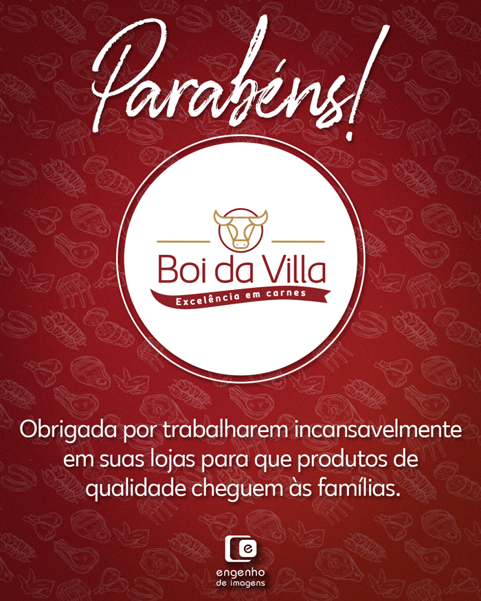 Parabéns, Boi da Villa!