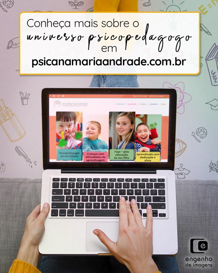 Novo site no ar: Ana Maria Andrade
