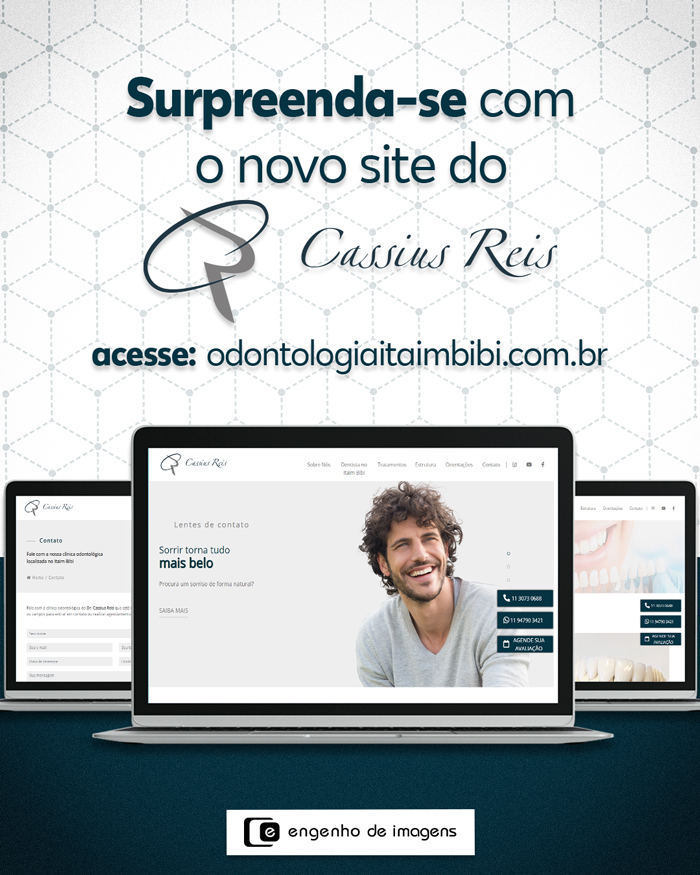 Novo site: Dr. Cassius Reis