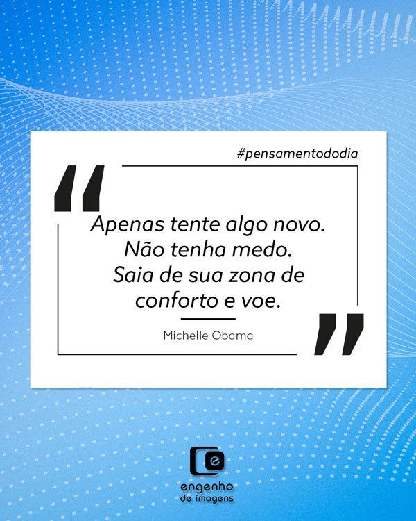 #pensamentododia: alcance novos voos!