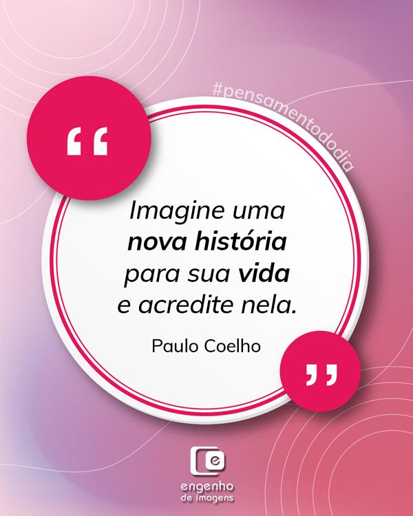 #pensamentododia: nova história