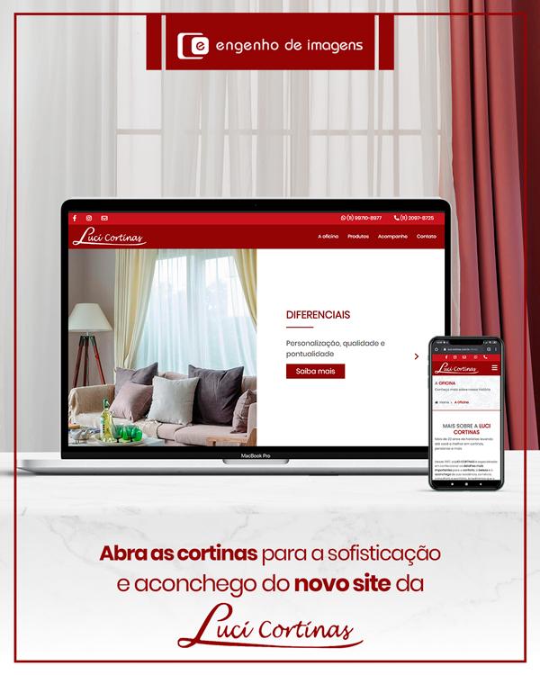 Novo site: Luci Cortinas!