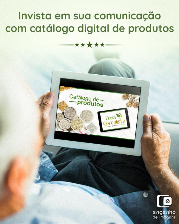 Invista em sua comunicação com catálogo digital de produtos