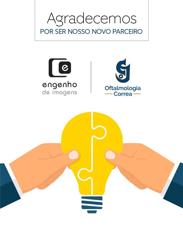 Nova parceria: Oftalmologia Correa