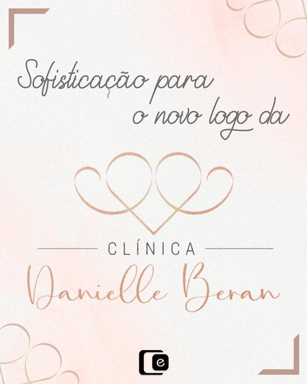 Logo personalizado: Clínica Danielle Beran
