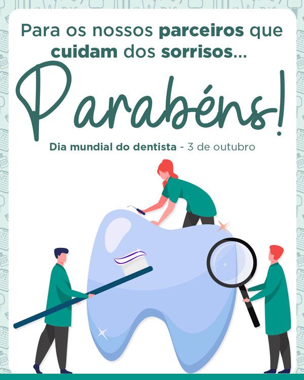 Parabéns, dentistas!