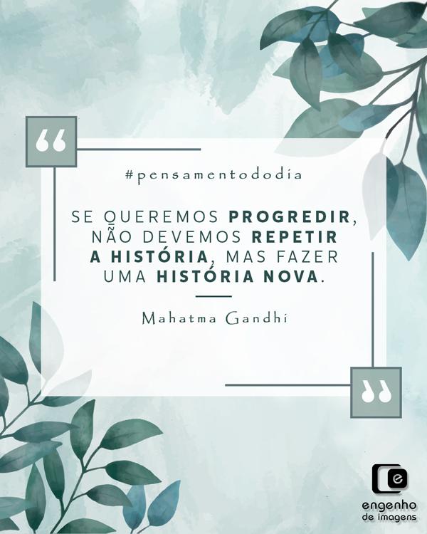 #pensamentododia: repetir não é progredir